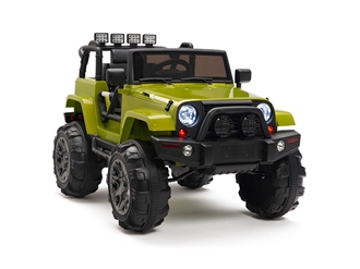 Kids 12V Battery Powered Ride On Truck Green