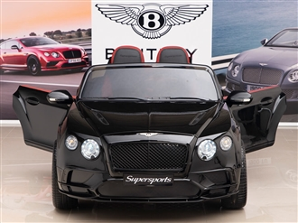12V Bentley Supersports Black