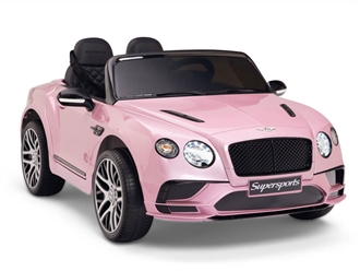 12V Bentley Supersports Pink