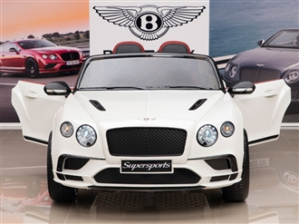 12V Bentley Supersports White