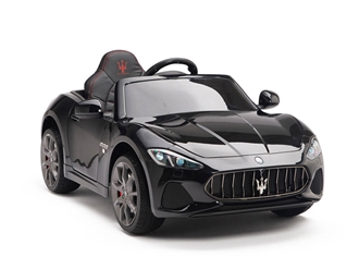 Big Toys Direct 12V Maserati GranCabrio Painted Black