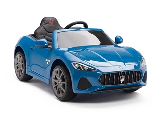 Big Toys Direct 12V Maserati GranCabrio Painted Blue