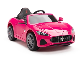 Big Toys Direct 12V Maserati GranCabrio Painted Pink