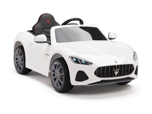 Big Toys Direct 12V Maserati GranCabrio Painted White