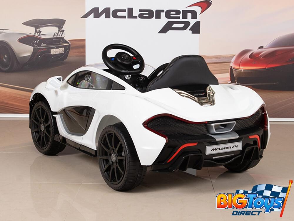 d547f520419e McLaren P1 Orange 12V Ride On Car With Parent Remote, Butterfly ...