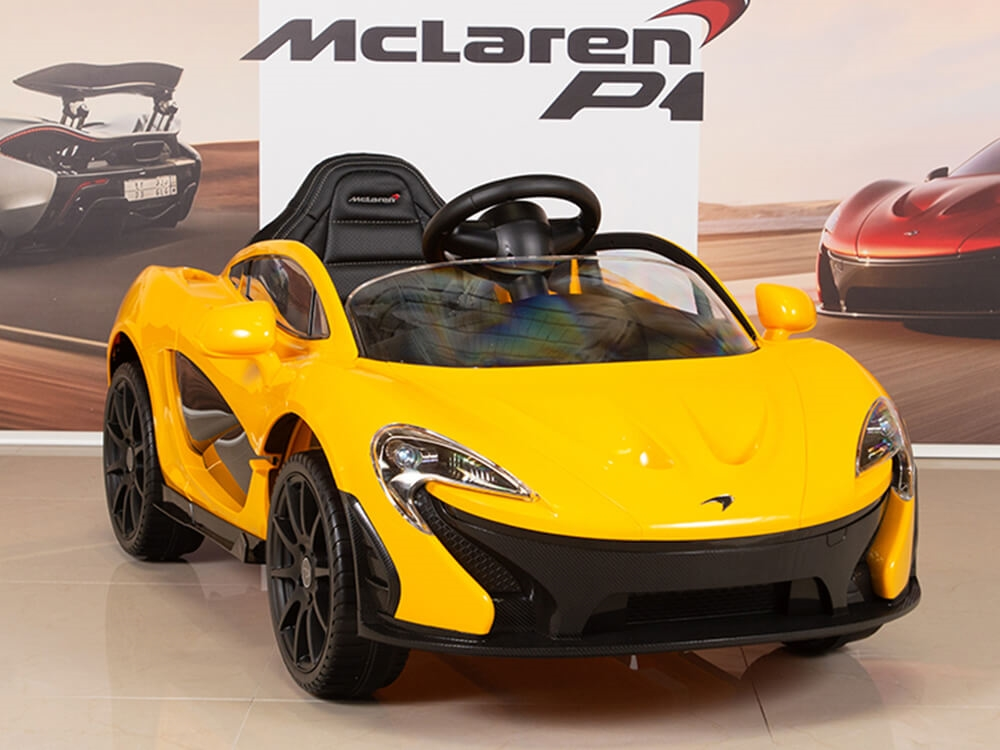 Toys Direct 12v Mclaren P1 Car Yellow