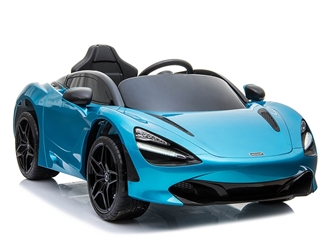 Big Toys Direct 12V McLaren 720S Car Painted Blue