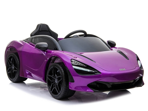 Big Toys Direct 12V McLaren 720S Car Painted Purple