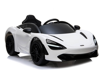 Big Toys Direct 12V McLaren 720S Car Painted White