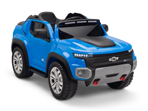Kids 12V Chevy Colorado Ride On Truck Blue
