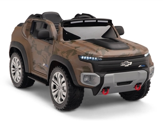 Kids 12V Chevy Colorado Ride On Truck Camo