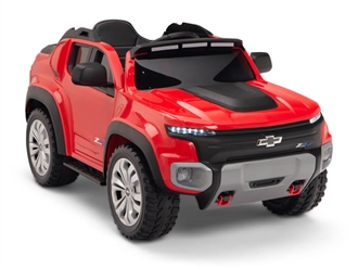 Kids 12V Chevy Colorado Ride On Truck Red