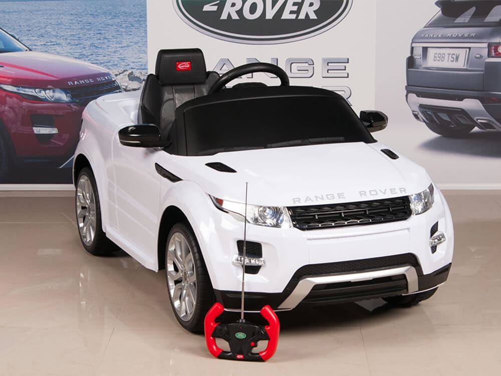 12v Range Rover Evoque Battery Powered Ride On Suv With Remote