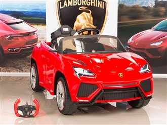 12V Lamborghini Urus Kids Battery Operated Ride On Car with Remote Control - Red