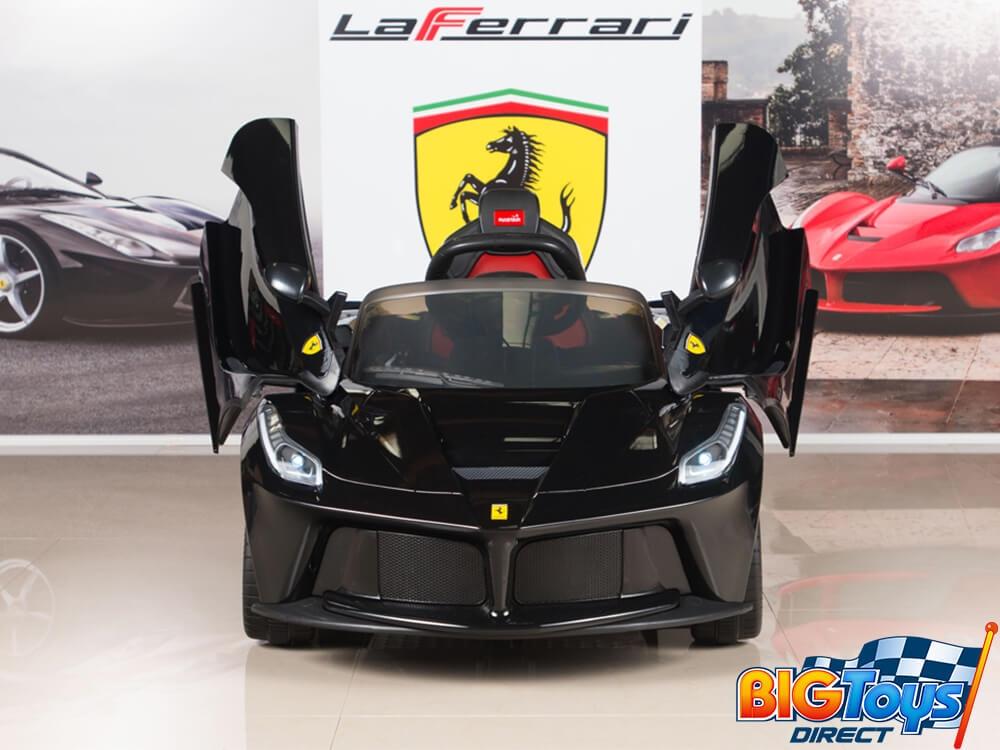Ferrari 12V LaFerrari Kids Electric Ride On Car with MP3 and Remote Control  - Black