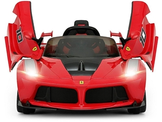 Ferrari 12V LaFerrari FXXK Kids Electric Ride On Car with Remote Control - Red