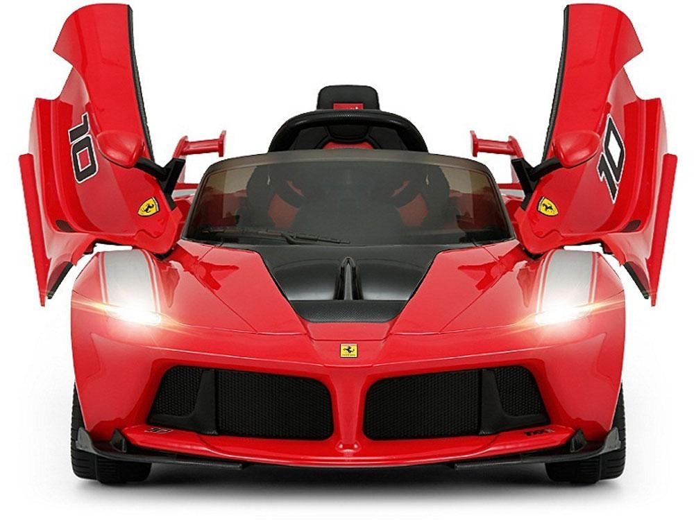Ferrari 12v Laferrari Fxx K Electric Ride On Car For Kids With 2 4 Ghz Remote Control 2 Motors Red