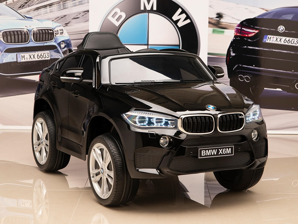 12v Bmw X6 Electric Powered Kids Ride On Car With Remote Control Black