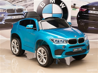 One Seat BMW X6M Kids 12V Blue
