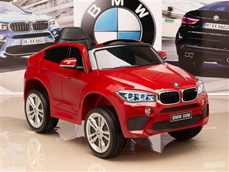 One Seat BMW X6M Kids 12V Red