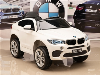 One Seat BMW X6M Kids 12V White