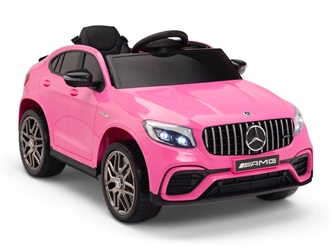 Mercedes-Benz GLC63S Ride On Pink