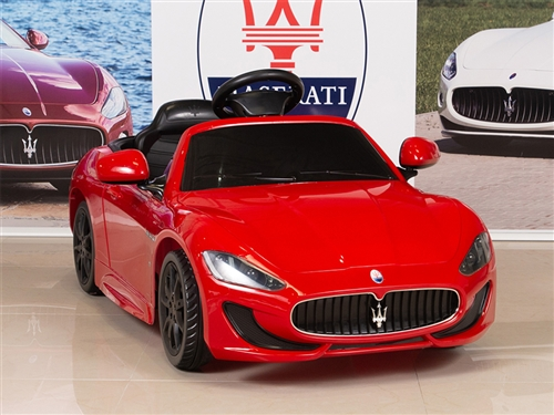 Big Toys Direct 12V Maserati GranCabrio Painted Red