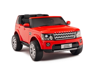 12V Land Rover Discovery Red