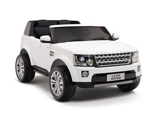 12V Land Rover Discovery White
