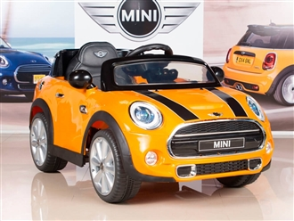 12V MINI Cooper Orange Yellow