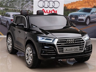12V Audi Q5 Kids Ride On Car with Remote Control - Black