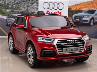 12V Audi Q5 Kids Ride On Car with Remote Control - Red