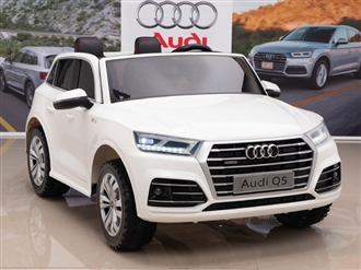 12V Audi Q5 Kids Ride On Car with Remote Control - White