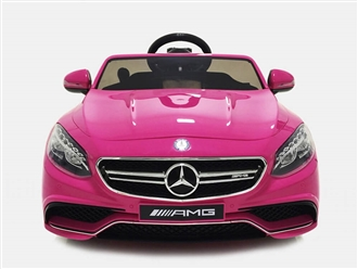 Mercedes-Benz S63 Ride On Pink