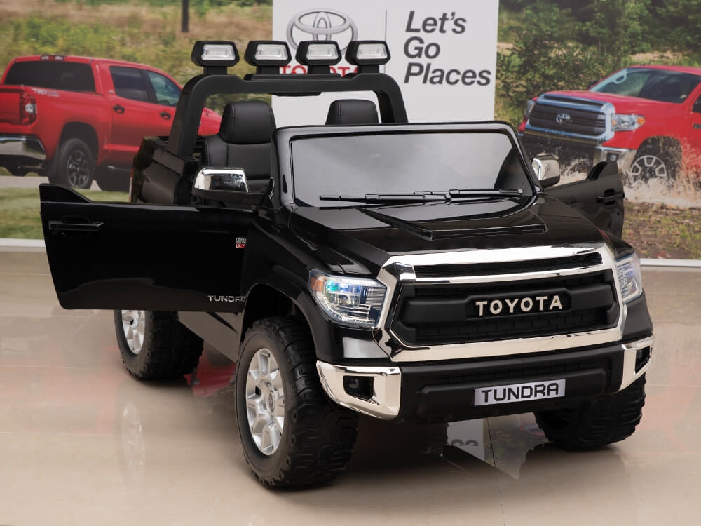 f9787ecfb 12V Kids Battery Powered Remote Control SPECIAL EDITION Toyota Tundra Ride  On Truck - Black