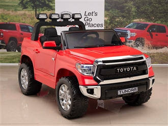 Kids 12V Toyota Tundra Ride On Truck Red
