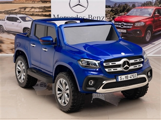 12V Mercedes Benz X Class Kids Ride On Truck Blue