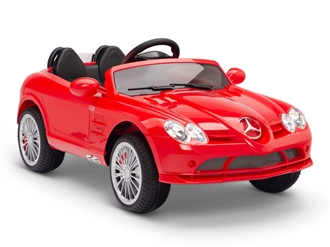 12V Mercedes-Benz SLR  722S Red