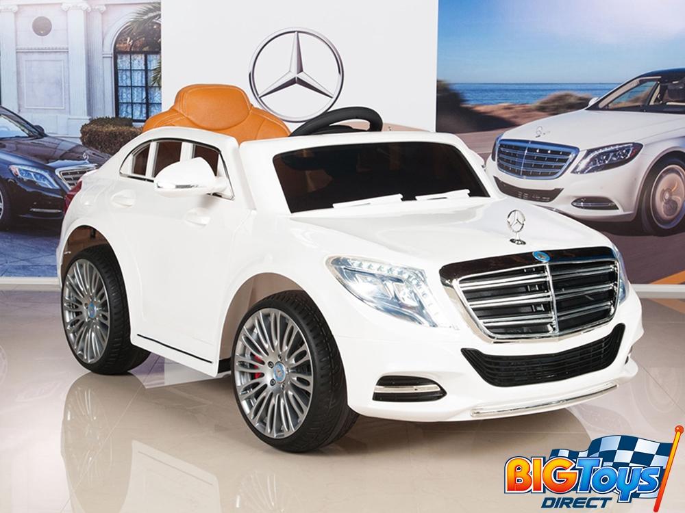 12v Mercedes S600 White