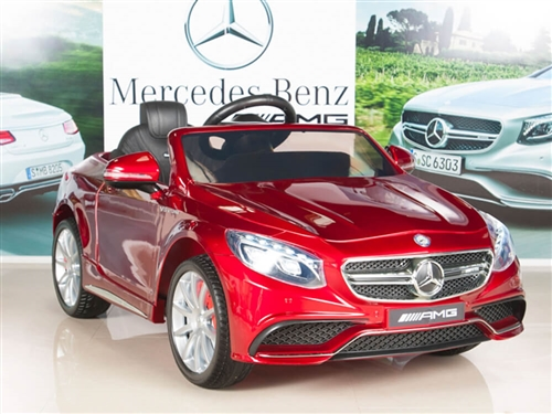 12V Mercedes-Benz S63 Painted Red