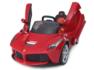 Ferrari 12V LaFerrari Kids Electric Ride On Car with Remote Control