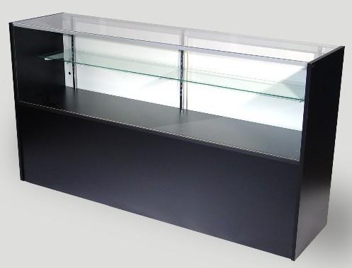 1e6f182460a Half Vision Glass Display Case Showcase