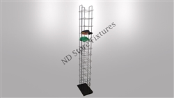 Cap Display Rack 12 Tier