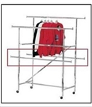 """H"" Clothing Rack Double Add on Bar"