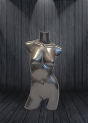 Glossy Female MannequinTorso