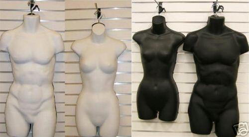 Male   Female Mannequin Dress Form Set · Larger Photo ... deb01cd58