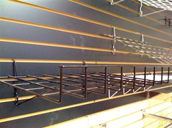 Universal Shelf for Slatwall/Gridwall/Pegboard