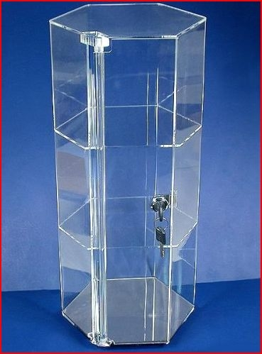 Acrylic Showcase Display Case Tall Ahbx44