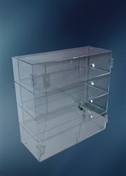 Acrylic Hinged Front Door Case - AH2F173