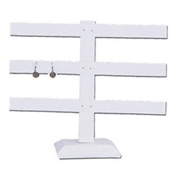 Triple Bar 12-Pair Earring Stand